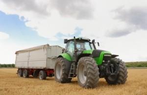 Het met het vermiste landbouwvoertuig best gelijkende landbouwvoertuig dat op Google te vinden was.