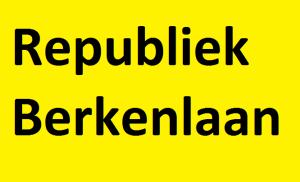 Met opruiende affiches probeerde de Berkenlaan zich los te scheuren van de rest van Vremde. Zonder resultaat.