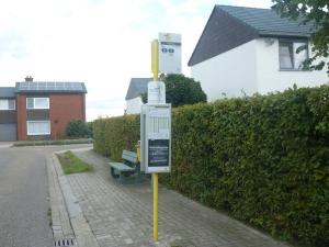 Er is een bushalte ontdekt in de Witte Wijk. Zo zou ze eruitzien volgens de ontdekkingsreizigers.