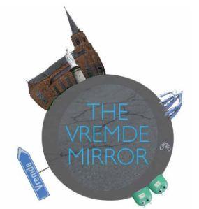 Het nieuwe logo van The Vremde Mirror.