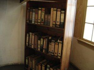 Een boekenkast.