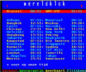 Teletekstpagina 349 hoeft niet meer op een interview van De Wever rekenen.